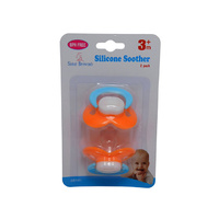 S/BROWNE SILICONE DUMMY 3-6MTHS