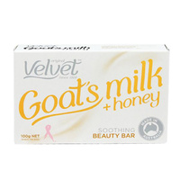 VELVET GOATS MILK & HONEY SOAP 100G