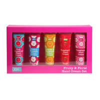XBC FRUITY HAND CREAM 5SET