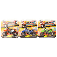 MOTOR X DIRT BIKE 22X21.5CM