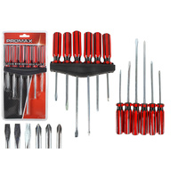 6PC SCREWDRIVER SET FLAT