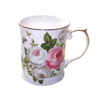 BUTTERFLY ROSE MUG 400CC