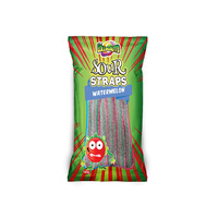 SOUR STRAPS WATERMELON 160G UN12