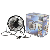 USB DESK FAN METAL