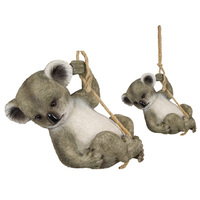 28CM KOALA HANGING ON ROPE