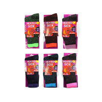 HEAT CONTROL WOMENS SOCKS QTY 12