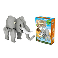 EVA PUZZLE ELEPHANT 24PC