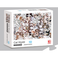 CAT WORLD PUZZLE 1000PC