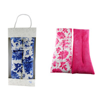 HEAT PACK SILICONE FLORAL 40X15CM