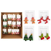 XMAS EARRINGS UN96