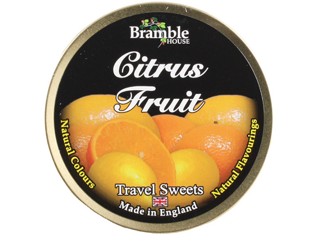 TRAVEL TIN DROPS CITRUS 200G