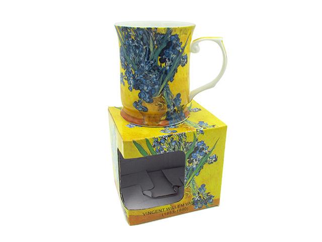 Van Gogh Irises In Vase 415cc Mug