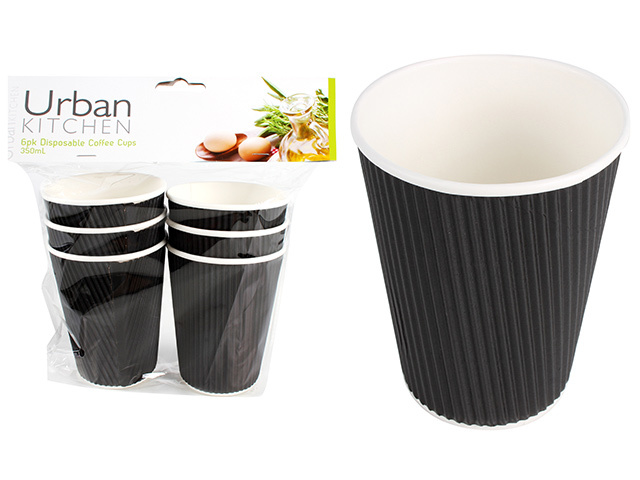 DISPOSABLE COFFEE CUPS 350ML