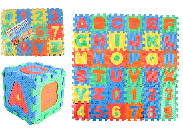 ALPHABET LEARNING PUZZLE GAME