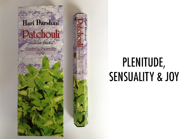 HD PATCHOULI INCENSE UN6