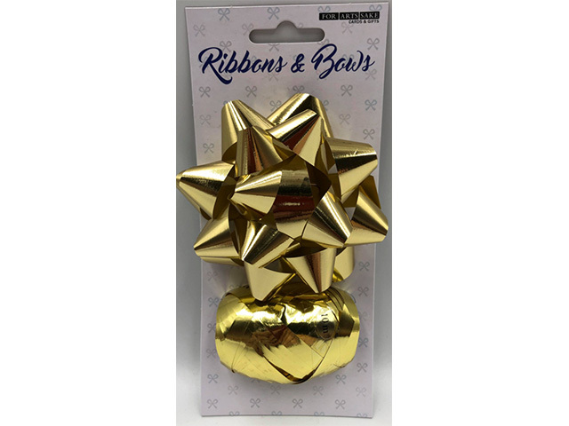 STAR AND RIBBON GOLD